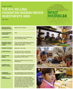 CaseStudy_Thornley_TheWKKelloggFoundationMissionDrivenInvestments_2014_thumbnail