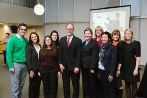 CASE staff with US Secretary of Labor Thomas E. Perez at the end of the 10th annual SBSI conference.