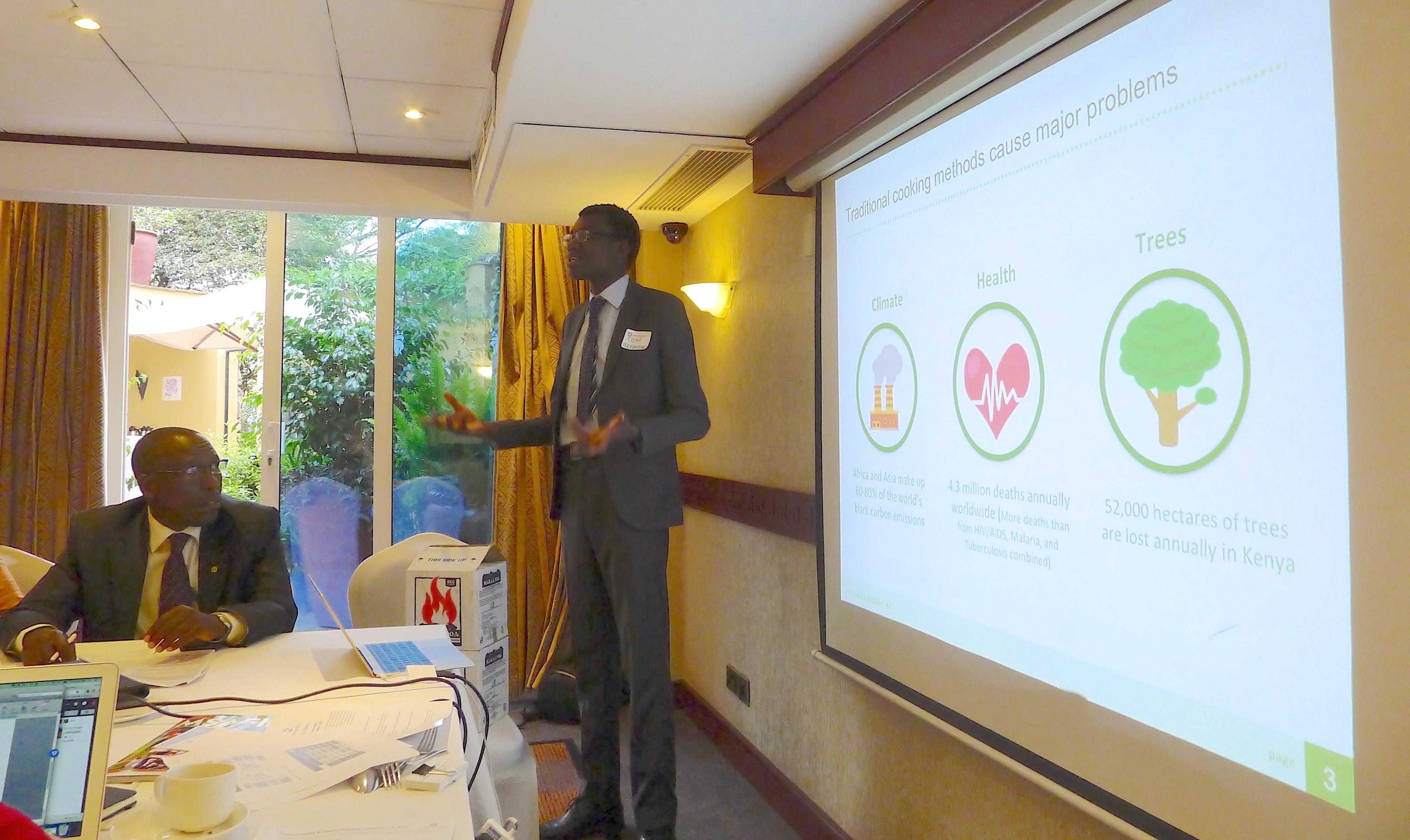 GreenChar Pitching at Investors' Circle Investor Forum