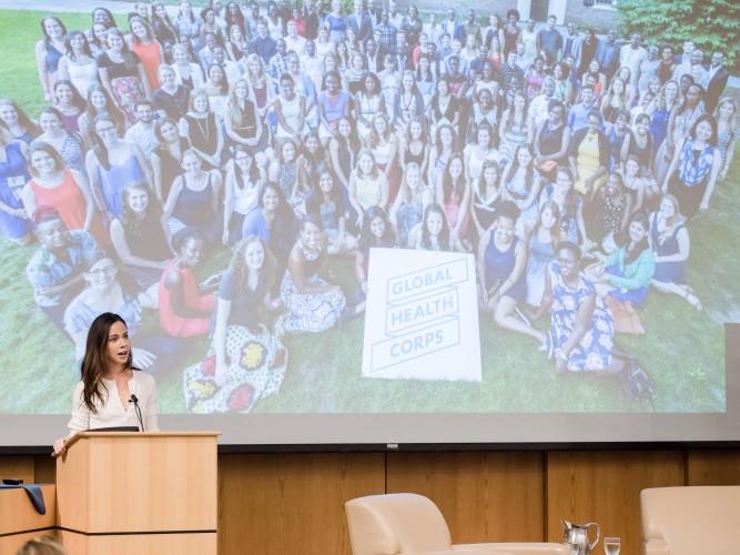 SBSI Barbara Bush Keynote on Global Health Corps