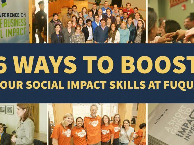 Fuqua Social Impact