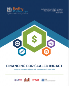 Financing for Scaled Impact Paper