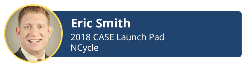 Eric Smith 2018 case launch-pad