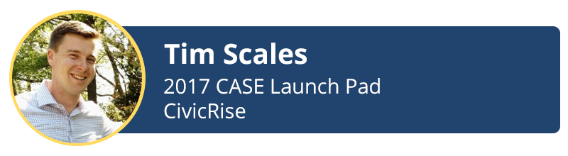 tim scales 2017 case launch-pad