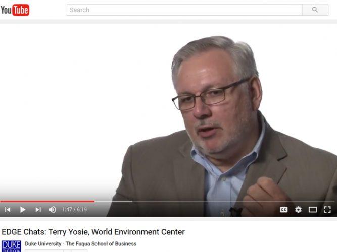 Video: Terry Yosie, World Environment Center