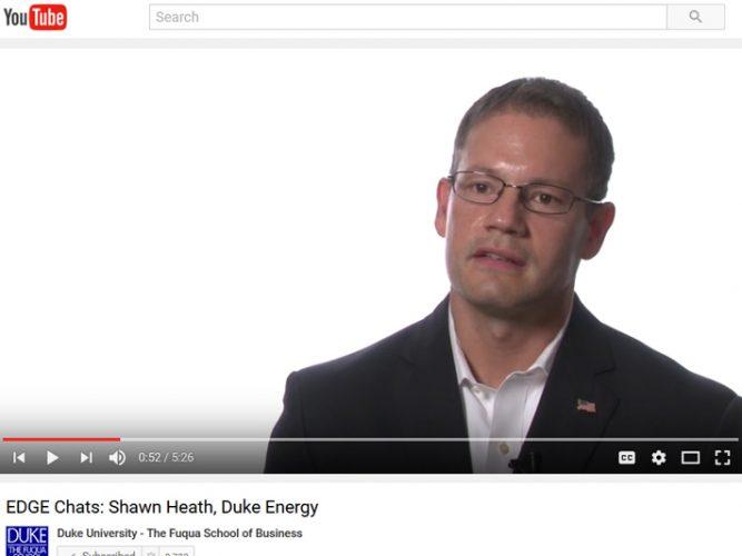 Video: Shawn Heath, Duke Energy