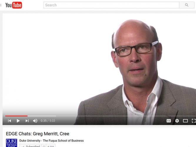 Video: Greg Merritt, Cree