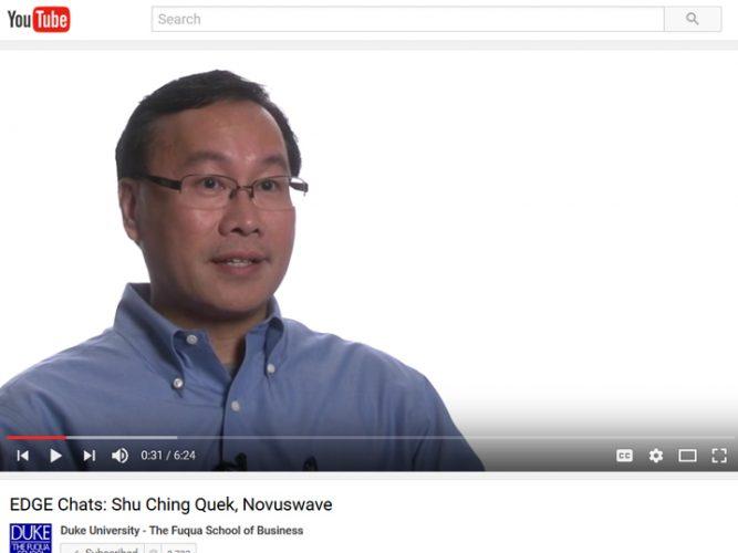 Video: Shu Ching Quek, Novuswave