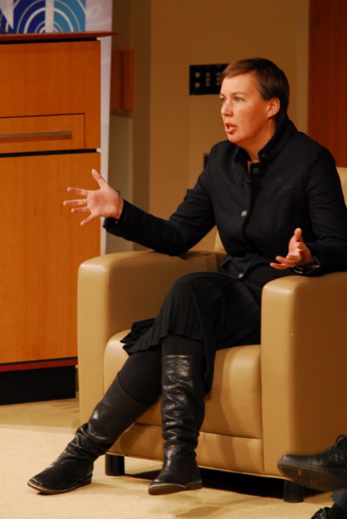 Hannah Jones, VP, Sustainable Business & Innovation, Nike