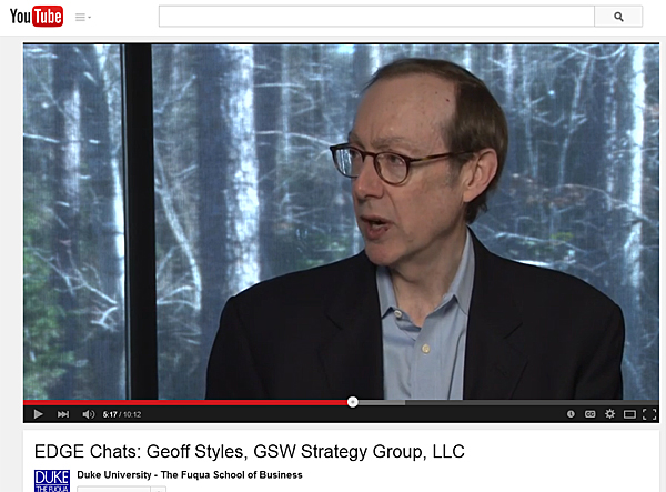 Geoff Styles, GSW Strategy Group