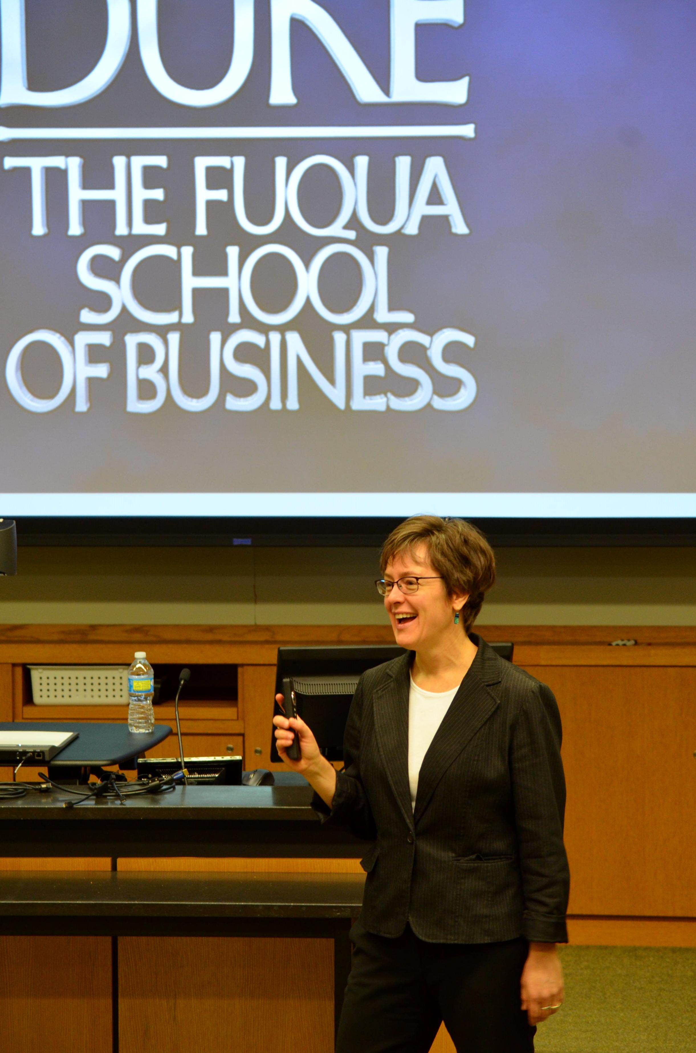 Mackenzie Sullivan, Sector Director for Social Impact & Sustainability Careers in Fuqua's Career Management Center