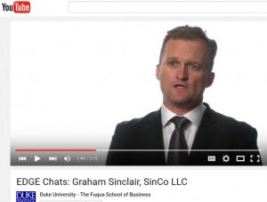 Video: Graham Sinclair, Principal, SinCo LLC