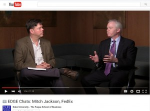 Video: Mitch Jackson, Vice President of Environmental Affairs and Sustainability at FedEx