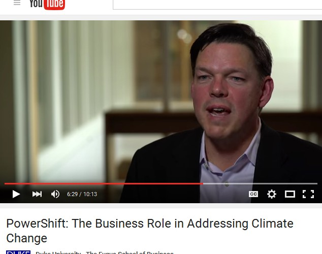 Video: PowerShift: The Business Role in Addressing Climate Change