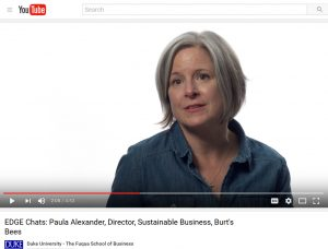 Video: Paula Alexander, Burt's Bees