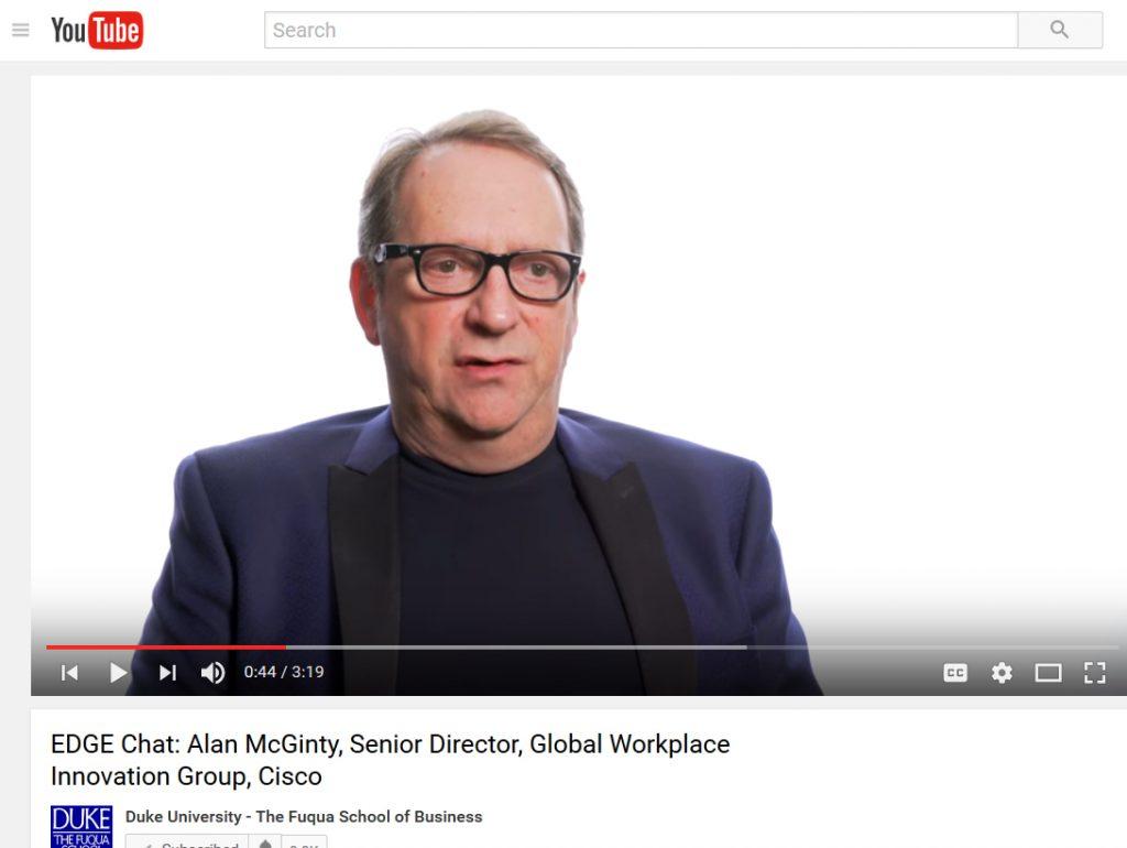EDGE Chats video: Alan McGinty