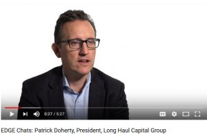 EDGE Chats video - Patrick Doherty