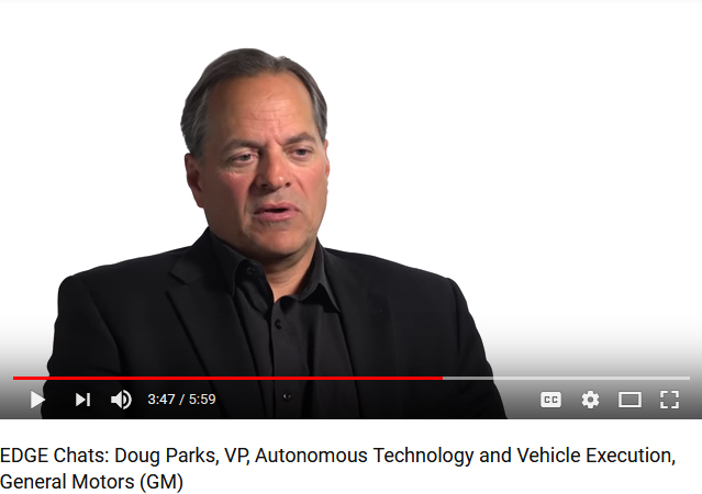 General Motors Vp Doug Parks Talks About Gm 39 S Plans For