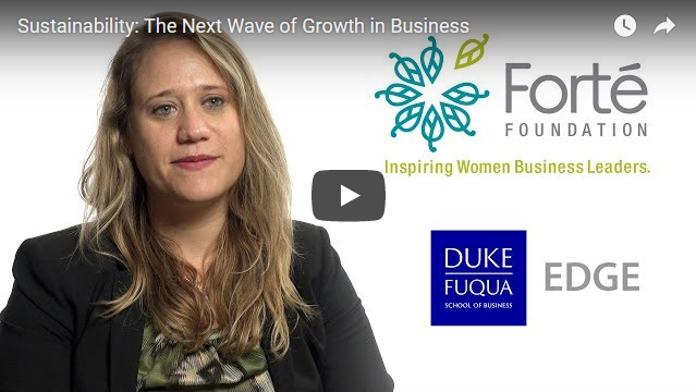 Video: Sustainability: The Next Wave of Growth
