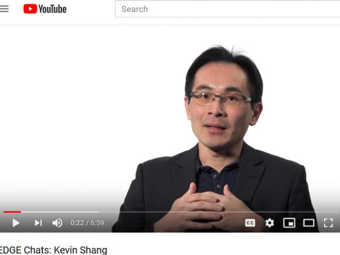 Kevin Shang EDGE Chats video