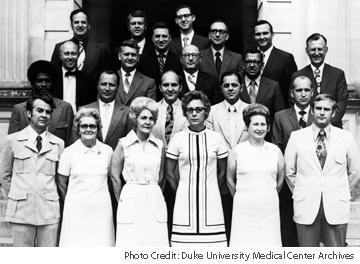 1971 Hospital Administrators Management Improvement Program Participants
