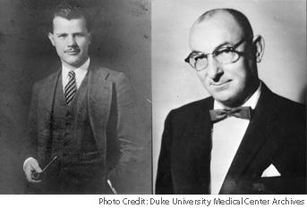F. Vernon Altvater (L) and F. Ross Porter (R), 1930 Hospital Administrative Interns